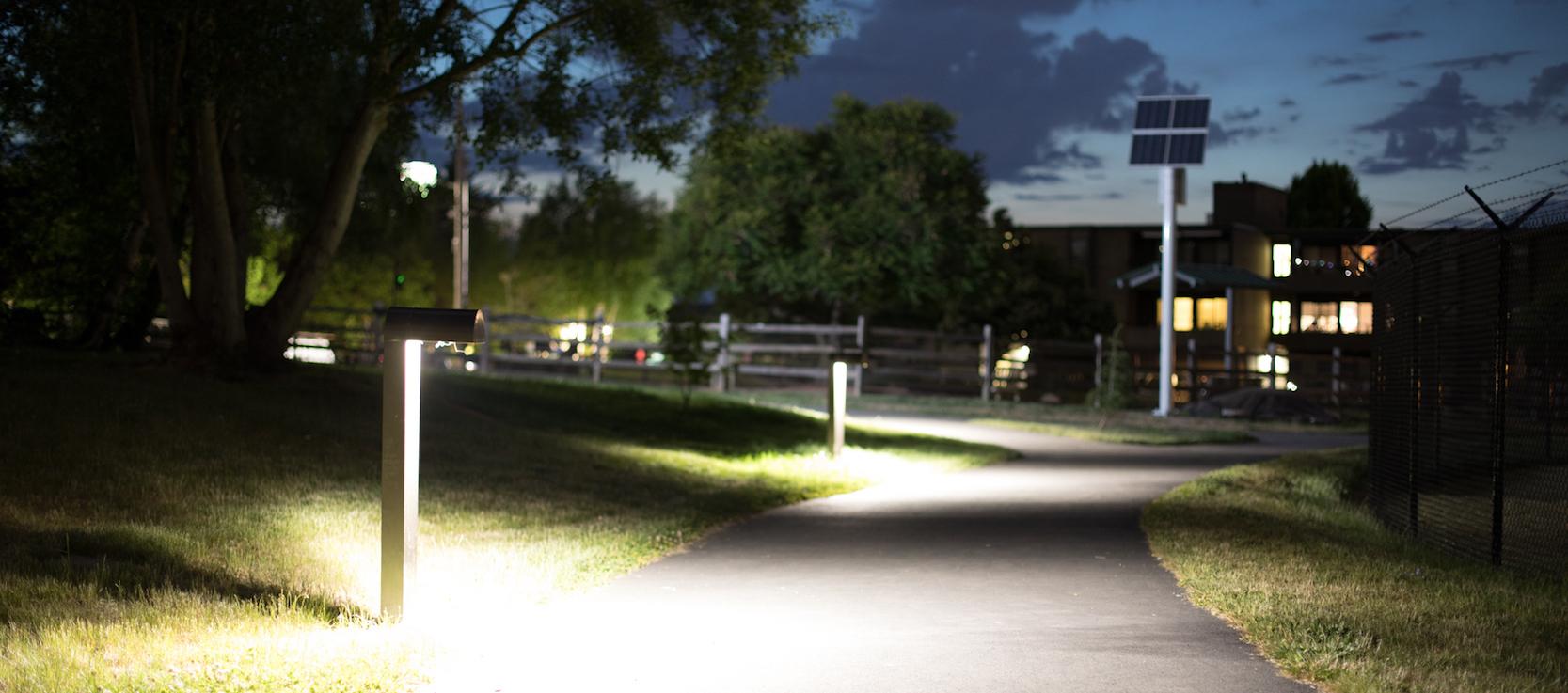 Pathway Lighting Urban Solar