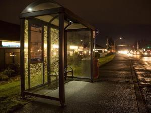 Urban Solar shelter lighting 1