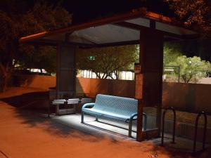 Urban Solar shelter lighting 4